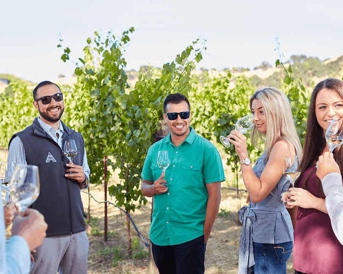 Artesa's state-of-the-art winery is inspired by harmony with nature.